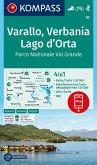 KOMPASS Wanderkarte Varallo, Verbania, Lago d'Orta, Parco Nazionale Val Grande