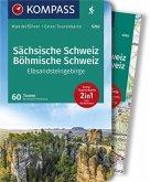 KOMPASS Wanderführer Sächsische Schweiz, Böhmische Schweiz, Elbsandsteingebirge