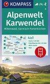 Kompass Karte Alpenwelt Karwendel Mittenwald, Garmisch-Partenkirchen
