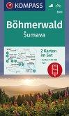Kompass Karte Böhmerwald, Sumava, 2 Bl.