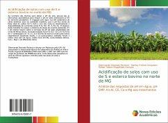 Acidificação de solos com uso de S e esterco bovino no norte de MG