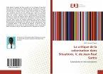 La critique de la colonisation dans Situations, V, de Jean-Paul Sartre