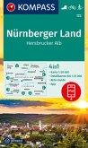 KOMPASS Wanderkarte Nürnberger Land, Hersbrucker Alb
