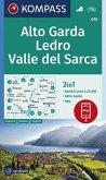 KOMPASS Wanderkarte Alto Garda, Ledro, Valle del Sarca