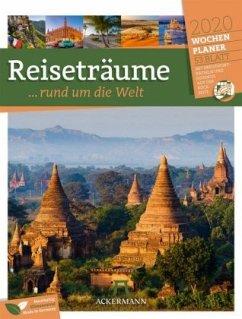 Reiseträume, rund um die Welt - Wochenplaner 2020