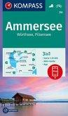 Kompass Karte Ammersee, Wörthsee, Pilsensee