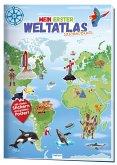 Trötsch Stickerbuch Mein erster Weltatlas