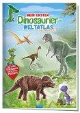 Trötsch Stickerbuch Mein erster Dinosaurier Weltatlas