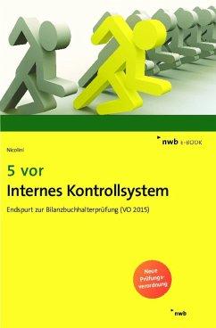 5 vor Internes Kontrollsystem (eBook, PDF) - Nicolini, Hans J.