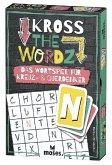 Moses MOS90317 - Kross The Wordz, Wortspiel für Kreuz-und Querdenker