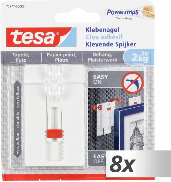 tesa Klebenagel f/ür Tapeten und Putz 1 kg 4 N/ägel