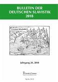 Bulletin der Deutschen Slavistik 2018 (eBook, PDF)
