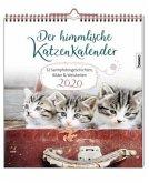 Der himmlische Katzenkalender 2020. Wochenkalender