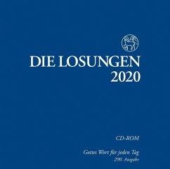 Die Losungen 2020, 1 CD-ROM