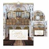 Orgeln 2020 Kalender mit CD