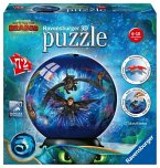 Ravensburger 11144 - Dragon 3, The Hidden World, Puzzleball, 3D Puzzle, Kinderpuzzle, 72 Teile