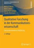 Qualitative Forschung in der Kommunikationswissenschaft (eBook, PDF)