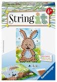 Ravensburger 18068 - String it Mini, Rabbit, Hasen, Kaninchen, Beschäftigung, Handarbeit