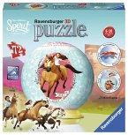 Ravensburger 11143 - Spirit Dream Works Riding Free, Puzzleball, 3D Puzzle, Kinderpuzzle, 72 Teile