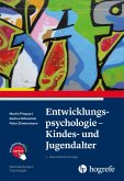 Entwicklungspsychologie - Kindes- und Jugendalter (eBook, ePUB)