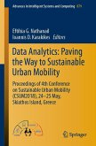 Data Analytics: Paving the Way to Sustainable Urban Mobility (eBook, PDF)