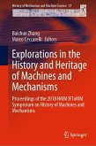 Explorations in the History and Heritage of Machines and Mechanisms (eBook, PDF)