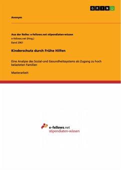 Kinderschutz durch Frühe Hilfen (eBook, PDF)