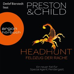 Headhunt - Feldzug der Rache - Ein neuer Fall für Special Agent Pendergast (Gekürzte Lesung) (MP3-Download) - Preston, Douglas; Child, Lincoln