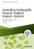 Controlling-Fachbegriffe Deutsch-Englisch, Englisch-Deutsch - inkl. Arbeitshilfen online (eBook, PDF)