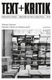 TEXT + KRITIK Sonderband - Gelesene Literatur (eBook, ePUB)