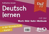 DaZ fit: Deutsch lernen mit der Wort-Bild-Satz-Methode in der Grundschule - Kartei (inkl. CD)