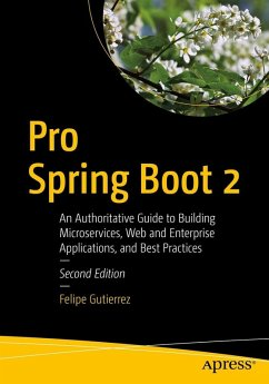 Pro Spring Boot 2 (eBook, PDF) - Gutierrez, Felipe