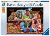 Ravensburger 14785 - Flauschiges Vergnügen, Puzzle, 500 Teile
