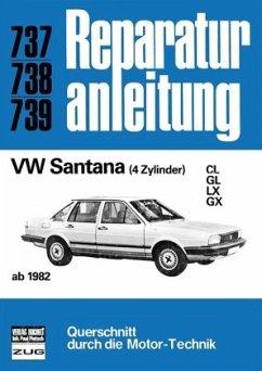 VW Santana (4 Zyl., ab 1982) (Mängelexemplar)