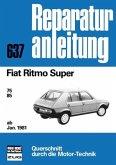 Fiat Ritmo Super ab Januar 1981; . (Mängelexemplar)