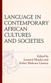 Language in Contemporary African Cultures and Societies (eBook, ePUB)