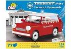 COBI 24555 - Youngtimer Collection,Trabant 601 Feuerwehr, Bausatz, 77 Teile, 1:35
