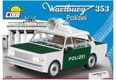 COBI 24558 - Wartburg, Polizei, Fahrzeug, Bausatz, 84 Teile
