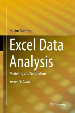Excel Data Analysis (eBook, PDF) - Guerrero, Hector