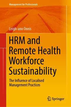 HRM and Remote Health Workforce Sustainability (eBook, PDF) - Onnis, Leigh-ann
