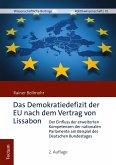 Das Demokratiedefizit der EU nach dem Vertrag von Lissabon (eBook, PDF)