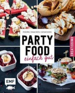 Partyfood - einfach gut (Mängelexemplar) - Hiekmann, Stefanie