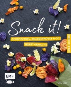 Snack it - Gemüsechips, Knabbernüsse und Co. selbst gemacht (Mängelexemplar) - Dusy, Tanja