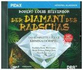 Der Diamant des Radschas, 1 Audio-CD