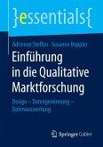 Einführung in die Qualitative Marktforschung