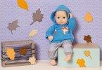 Zapf Creation® 870839 - Dolly Moda Sport-Oufit Blau 36 cm, Hoody, Puppenbekleidung