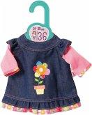 Zapf Creation® 870754 - Dolly Moda Jeanskleid 36 cm, Puppenbekleidung