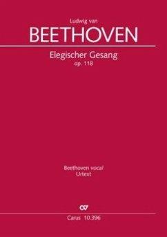 Elegischer Gesang (Klavierauszug) - Beethoven, Ludwig van