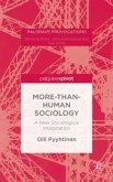 More-than-Human Sociology