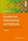 Grundwissen Elektrotechnik und Elektronik (eBook, ePUB)